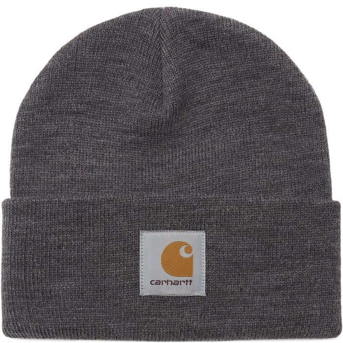 Short Watch Hat - Beanies - Grey